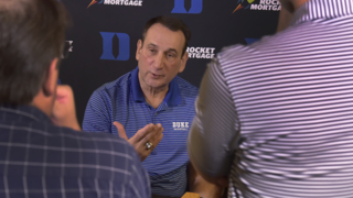 One and done? Coach K breaks down new NCAA policy