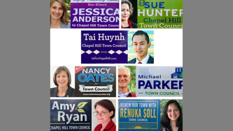Here are the winners of Chapel Hill, Carrboro, Hillsborough and school board races