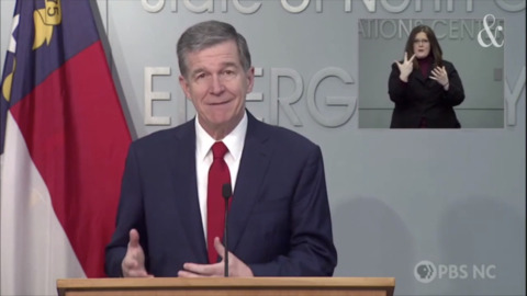 Cooper: Front line essential workers in NC now can get COVID vaccine