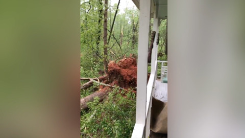 Tornado reported in Hillsborough; power outages around the Triangle