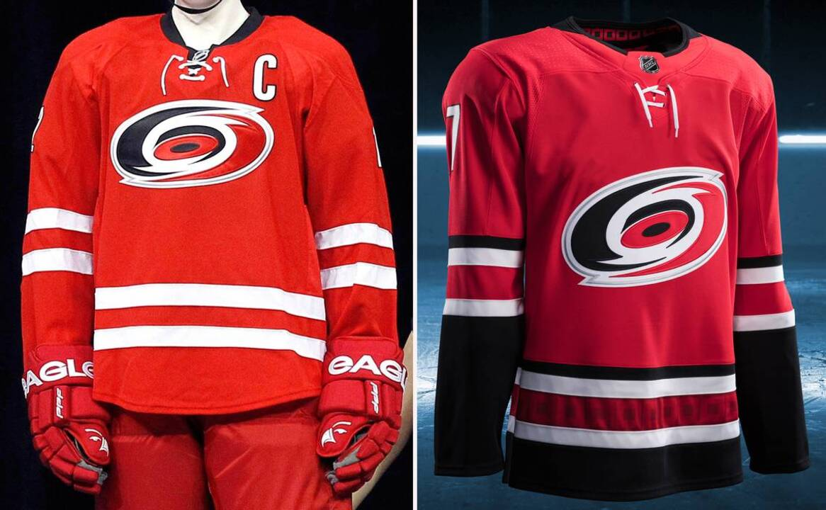 42ef15971 Adidas unveils new jerseys for Canes, NHL teams for 2017-18 season |  Raleigh News & Observer