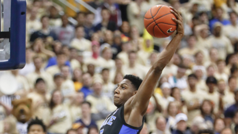 RJ Barrett on playing against Pittsburgh and its coach, Jeff Capel