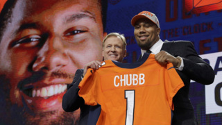 NC State's Bradley Chubb is drafted by the Denver Broncos