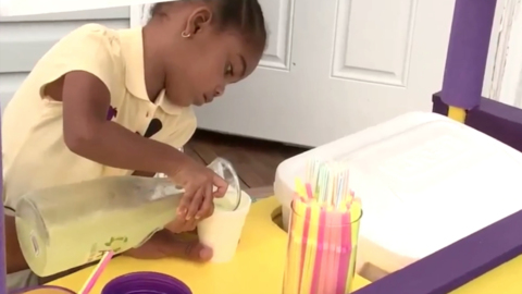 Durham 3-year-old and her lemonade stand are in the spotlight. 'She's worldwide now.'