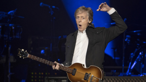 Paul McCartney in concert at Raleigh's PNC Arena
