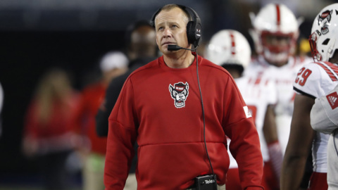 NC State's Doeren talks about the loss to Georgia Tech