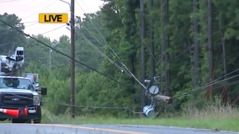 One dead, two hospitalized after car crashes into utility pole in Durham