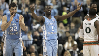 UNC's Pinson following win over Miami: 'I'm a playmaker'