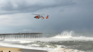 Coast Guard searches for boy pulled into ocean by wave on NC Outer Banks