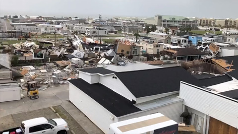 EF-2 tornado ripped through Emerald Isle during Hurricane Dorian, forecasters say