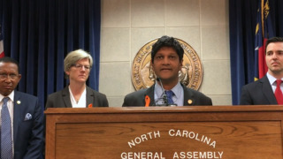 NC Sen. Jay Chaudhuri and other Democrats propose new gun laws in the aftermath of Parkland shooting