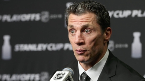 Rod Brind'Amour following loss to Bruins: 'We gotta regroup and that's all you can do'