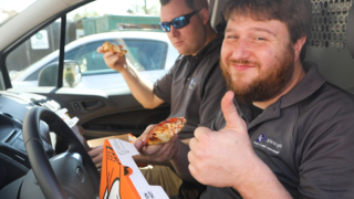 Little Caesars lives up to free pizza promise after NCAA upset