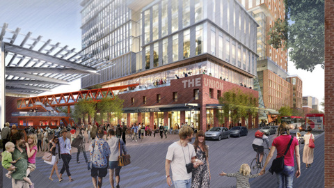 Here's a look at plans for a second phase at Raleigh Union Station