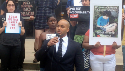 Rally demands answers, justice for mentally ill man shot 8 times by Raleigh police