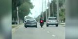 Motorcyclist is run over by car in Florida road rage incident