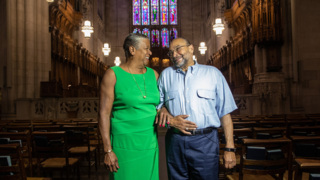First black couple wed at Duke Chapel celebrate 50th anniversary
