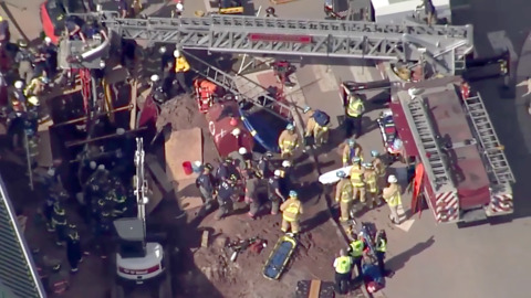 Worker rescued after trench collapse near Brier Creek in Wake Co.