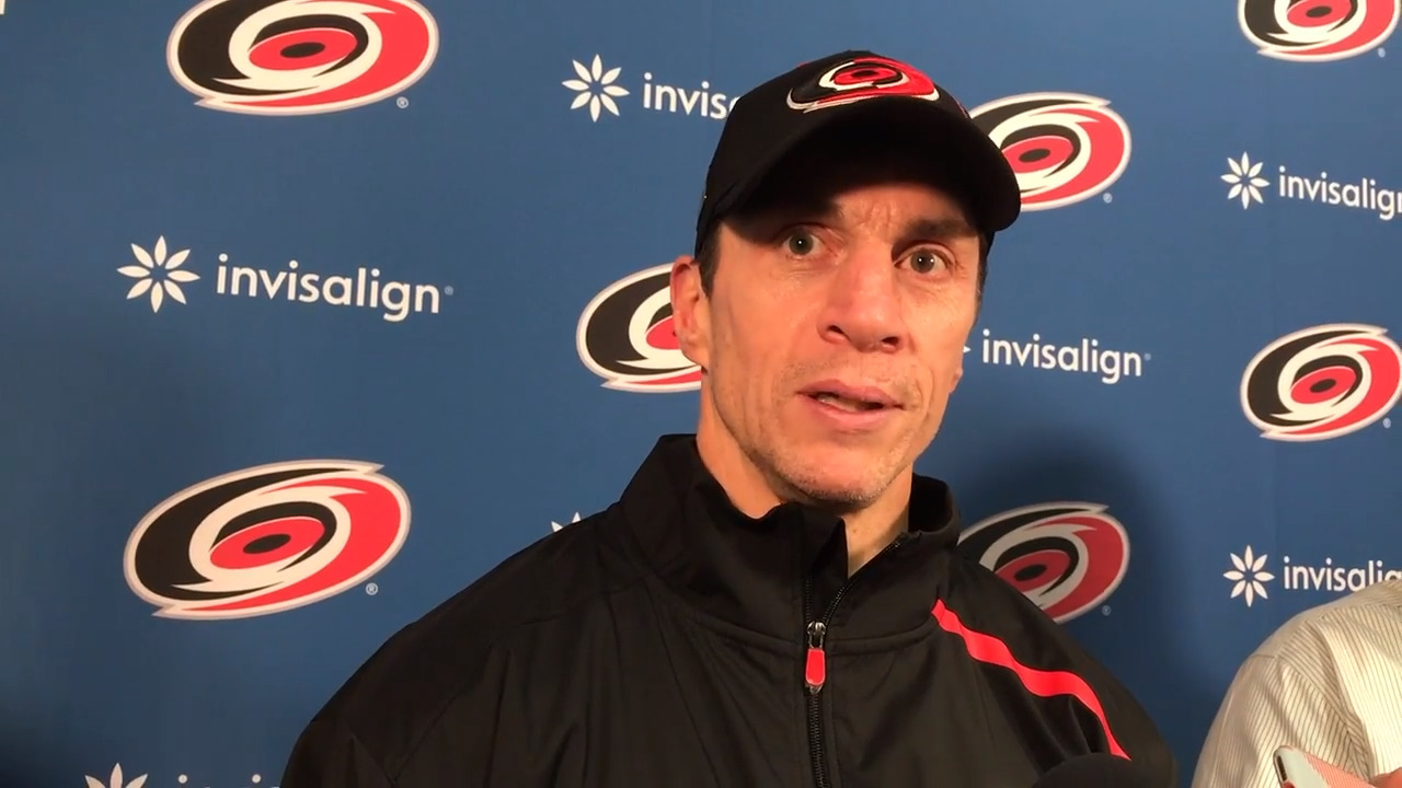 Rod Brind'Amour recalls a snowy scene, a career-changing day with the Canes