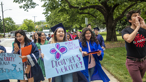 Immigrant students graduating from NC high schools want in-state college tuition