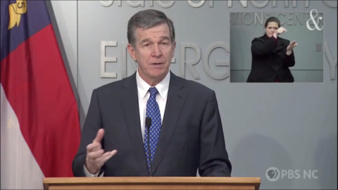 NC Gov. Cooper to discuss weather, COVID-19 at today's news conference. How to watch.