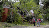 Trees down, thousands without power in Charlotte after storms roll through