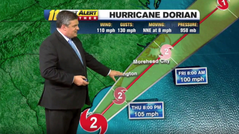 Hurricane Dorian is creeping toward NC. How will the Triangle be affected?