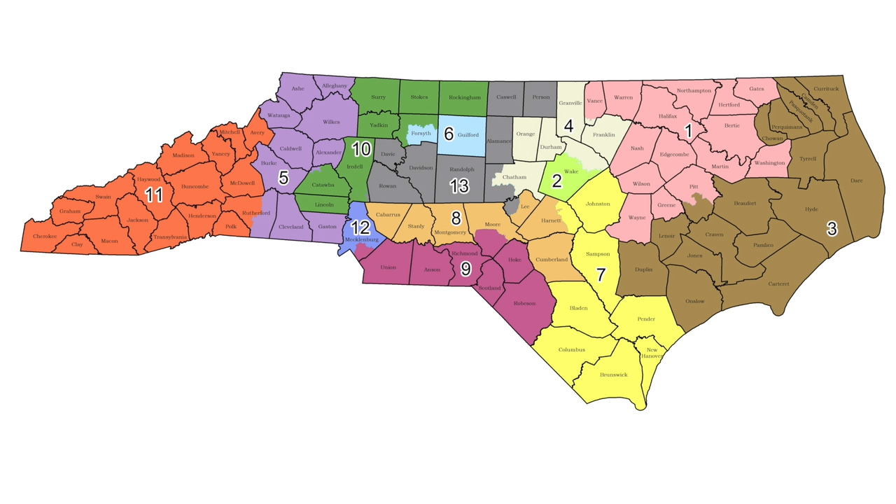 Raleigh, Greensboro districts\' new maps draw Democrats to ...