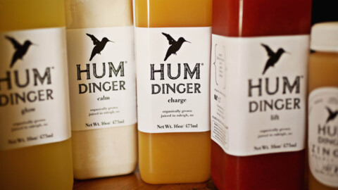 Raleigh's Humdinger Juice sells a varied list of all-organic cold-pressed juices