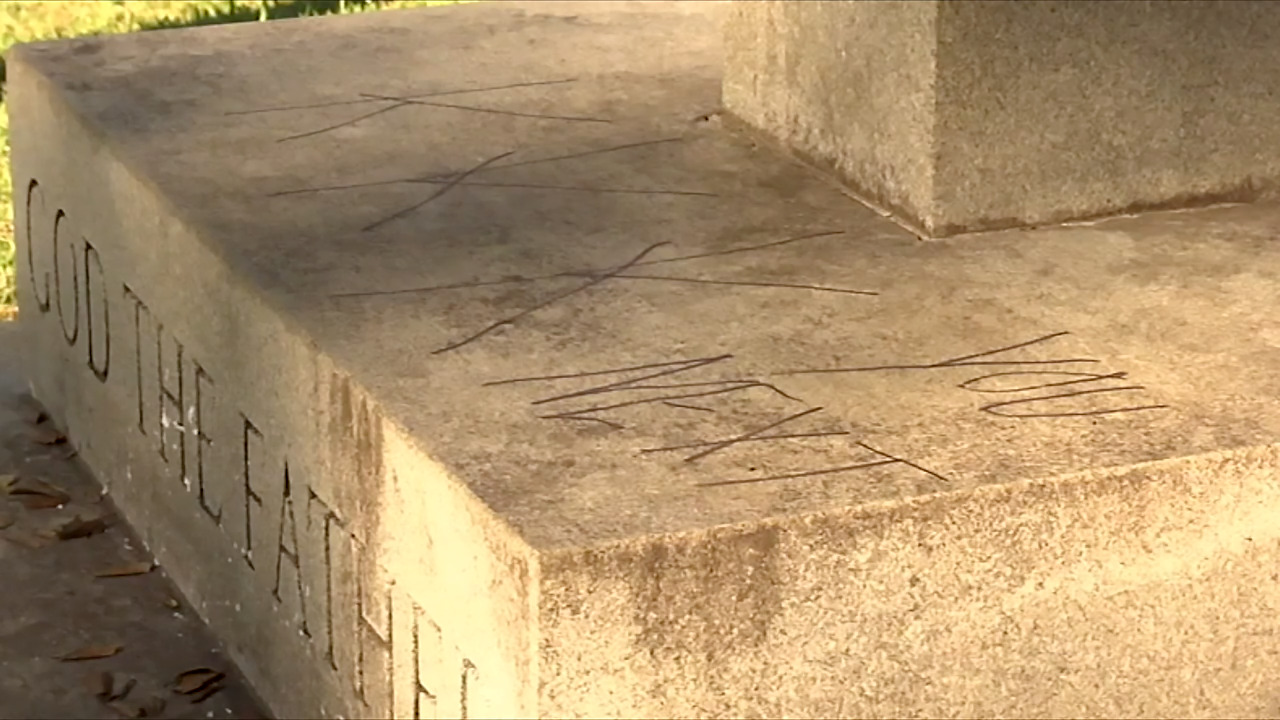 Threat invoking KKK is scrawled on cross at historic black church in North Carolina