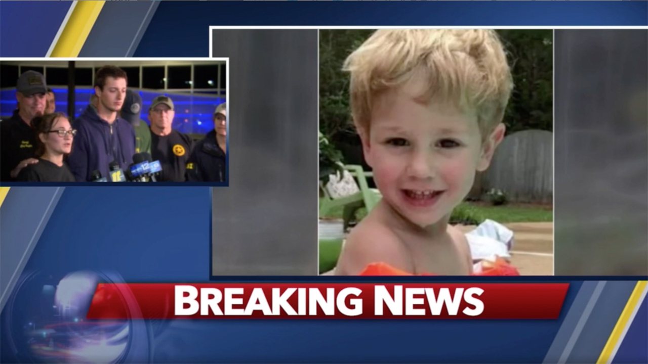 Lost NC boy, age 3, says he hung out with a bear for 2 days