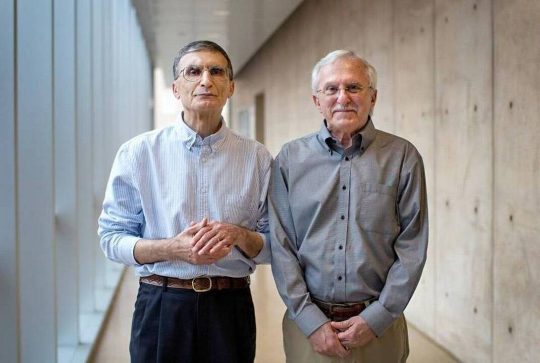 2015 Tar Heels of the Year: Nobel winners Aziz Sancar & Paul Modrich