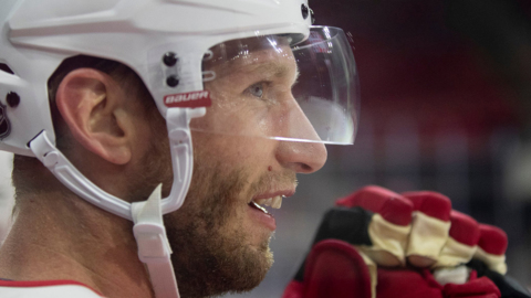 A sit down with Carolina Hurricanes captain Jordan Staal