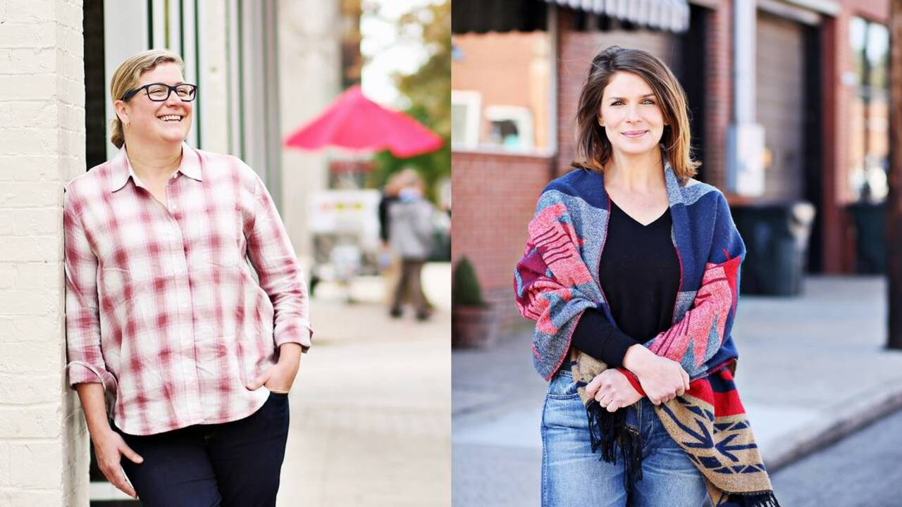 Chefs Ashley Christensen and Vivian Howard elevate cuisine, and their homes