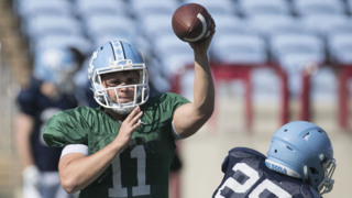 North Carolina quarterback Nathan Elliott: 'I'm very excited about this offense and where it's heading'