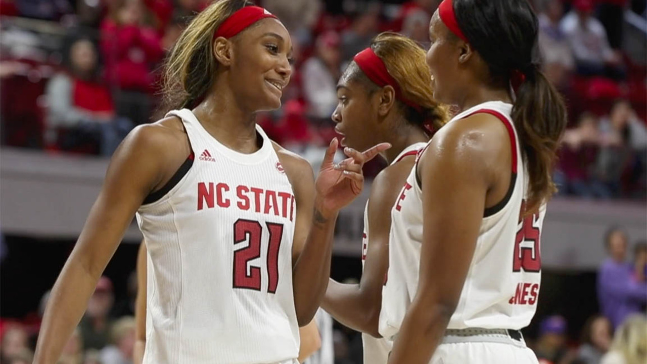 NC State keeps rolling, thanks in large part to Kiara Leslie, who won't let her team down