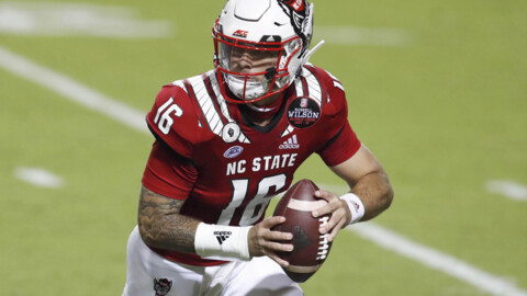 NC State's Doeren talks about the decision to keep Bailey Hockman as the starting qb