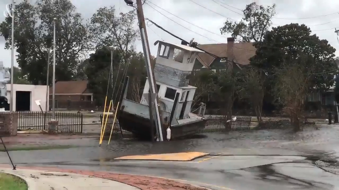 New Burn Nc >> See Downtown New Bern North Carolina After Hurricane Florence