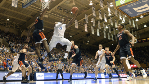 Given the week that was, Duke's win over Virginia was extra special for Coach K and his young Blue Devils