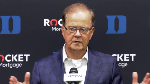 Duke's Cutcliffe talks about facing UNC after big loss to Virginia