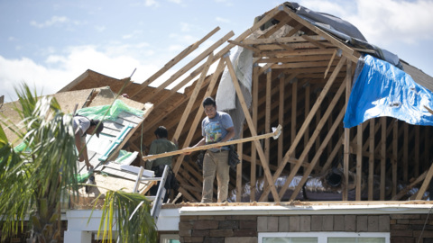 'Like everything happened in a hurry.' NC families survey aftermath of Dorian tornado.
