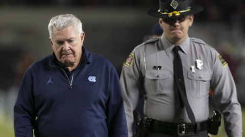 UNC's Mack Brown calls loss to Virginia Tech one of his toughest