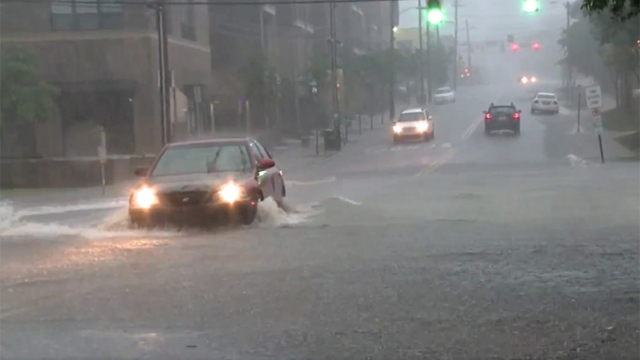 Heavy rain causes flooding, washes out road in northeastern Wake County