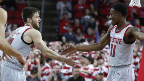 Beverly, Dorn lead NC State to important win over Syracuse