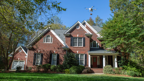 UPS uses drone for the first time to deliver prescription medicine from an NC CVS
