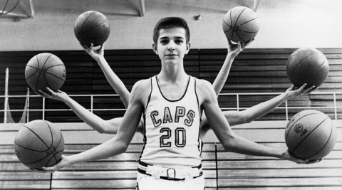 Photos from the career of basketball superstar 'Pistol Pete' Maravich