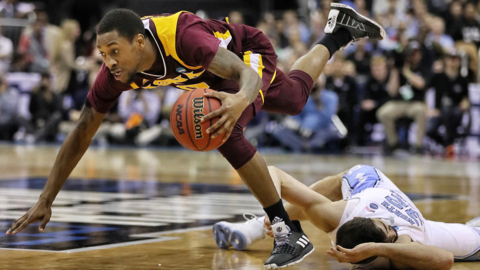 Iona provides UNC a scare, and leaves with a memory