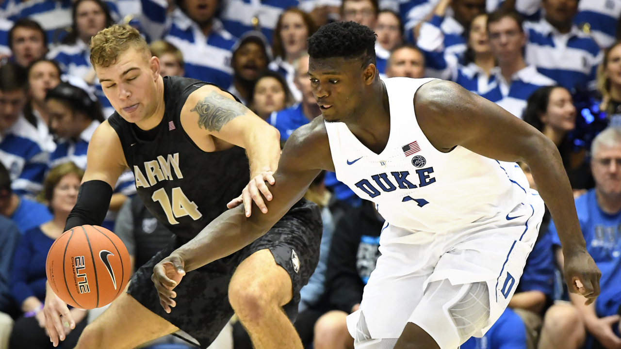 Duke ranked No. 1 in new AP Top 25 basketball poll ...
