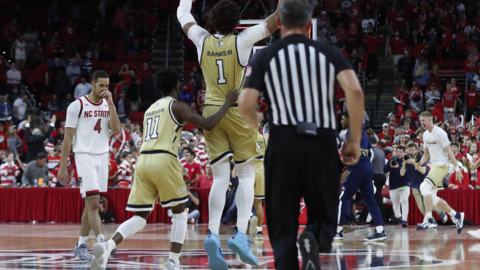 Deja vu: James Banks lifts Georgia Tech to last-second win over NC State