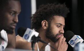 UNC's Joel Berry and Theo Pinson 'just sad it's over' after loss to Texas A&M